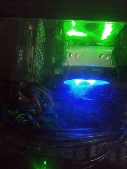 Pc Gamer R5 1600x Zotac 1060 6gb Hyperx 16gb Ram Hdd 1tb