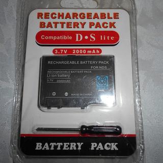 Bateria Recargable Nintendo Ds Nds + Destornillador Pila