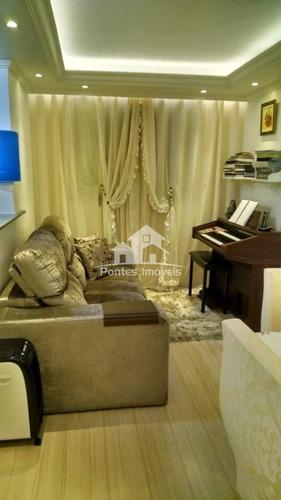 Imagem 1 de 9 de Apartamento 45m² 2 Dorms. 1 Vaga No Bairro Parque São Vicente Em Mauá-sp - Apa2012