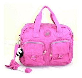 Bolsa Ombro Jovem Feminina Nylon Bag X-bags Pa101 Pink