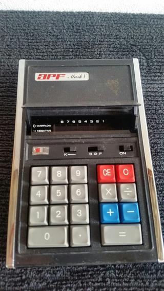 Máquina De Calcular Apf Mark V ( Leia O Anúncio )