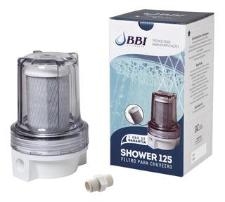 Filtro Chuveiro Ducha Bbi Shower Transparente Carvão Remove Cloro Shower125 Anticloro
