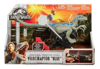 Blue Jurassic World 2 Fallen Kingdom Corre De Verdad! Mattel