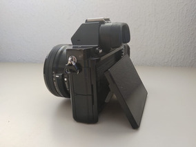 Camera Sony A7s + Lente 16-50mm