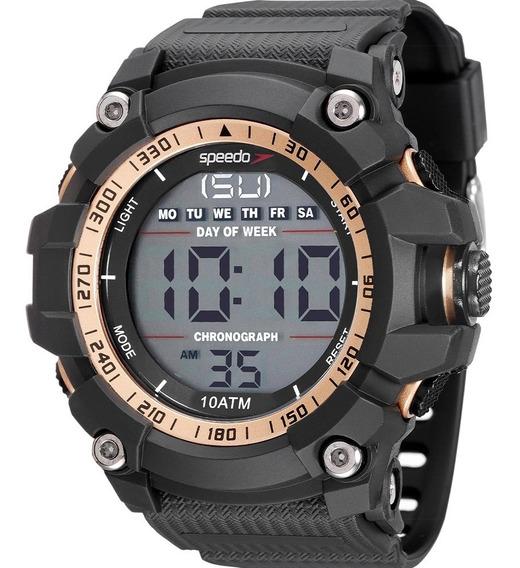 Relógio Speedo Masculino Preto Digital Prova D