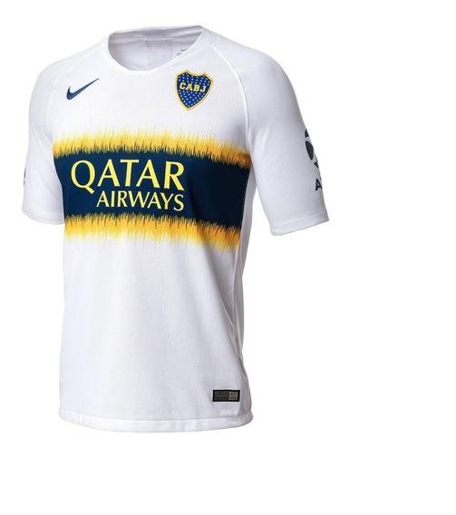 Camiseta Boca Jr Stadium Titular Original Qatar Liquidacion