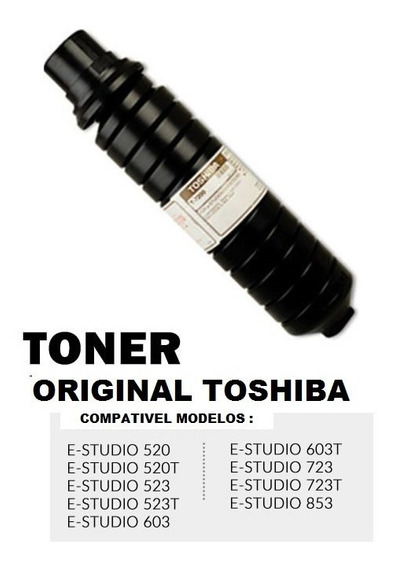 Toner Toshiba T-7200 Original E-studio 603 600 523 853 723