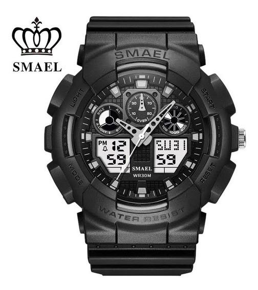Relógio Esportivo Smael Original À Prova D