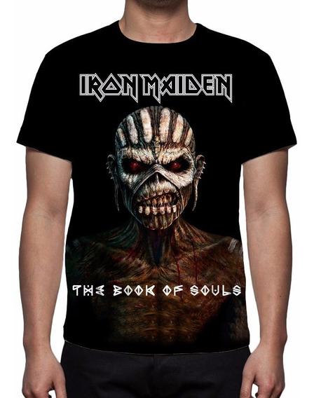 Camisa, Camiseta Iron Maiden - The Book Of Souls