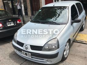 Renault Clio 1.6 2004 Full Nafta Financio Y Permuto