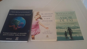 Combo De Livros: Max Lucado, Doroty Law Nolte, Paulo Caruso