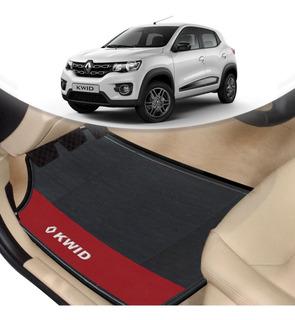 Tapete Borracha Automotivo Renault Kwid Lado Vermelho