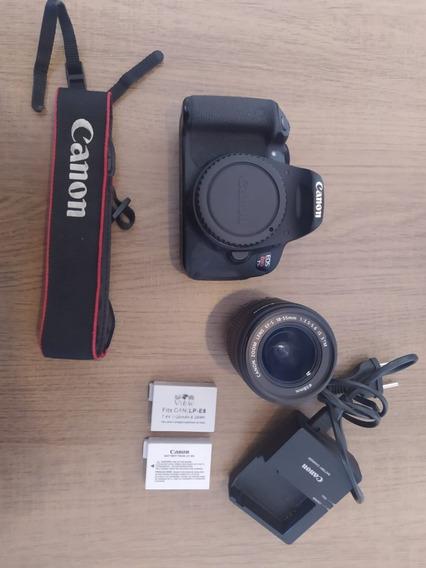 Canon T5i + Baterias + Lente