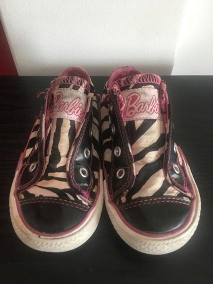 Zapatillas Nena Barbie Zebra