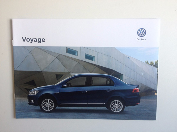 Catálogo Livreto Ficha Técnica Vw Voyage Ano 2016
