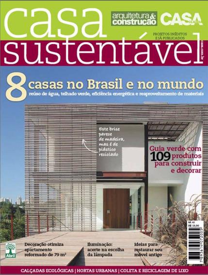 Revista Casa Sustentável Arquitetura Nº 2 - Lacrado