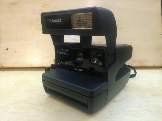 Câmera Fotográfica Polaroid 636 Closeup Relíquiacolecionável