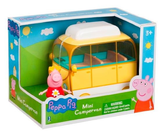 Peppa Pig - Mini Campervan Pequeños Vehículos