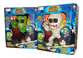 Stretch Strong Monsters Muñeco Terror Luz Y Sonido Top Toys
