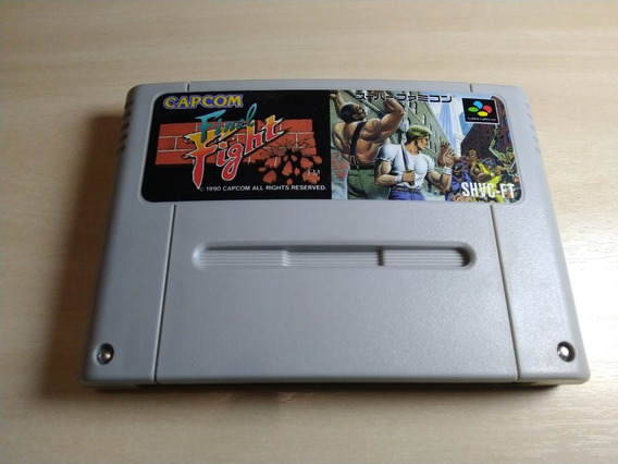 Final Fight Original Japonês Snes