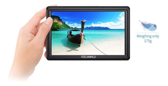 Monitor Feelworld Fw568 4k Videoassist P/ Dslr Sony Canon