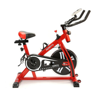 Bicicleta De Spinning Fija Femmto Bici Rueda Disco Casa Gym