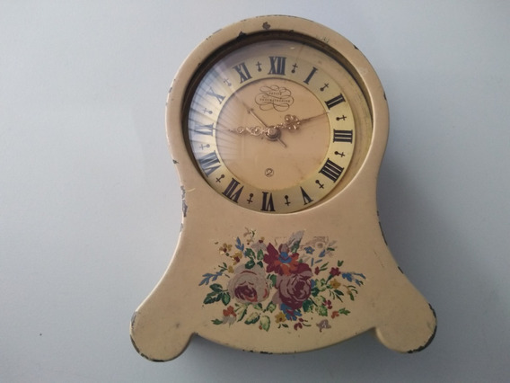 Relógio De Mesa Musical Petite Neuchateloise Dec De 50