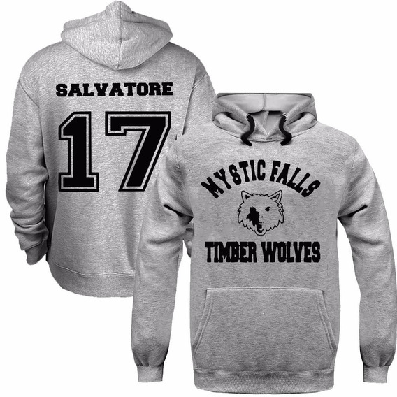 Moletom The Vampire Diaries Mystic Falls Timber-salvatore 17