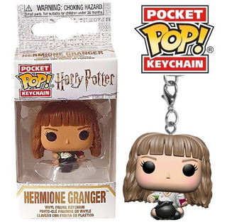 Funko Pop - Harry Potter Luna Hermione Keychain Ron Llavero