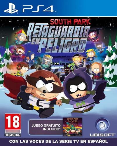 Imagen 1 de 2 de South Park Retaguardia En Peligro Ps4 Fisico Sellado Ade