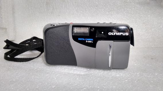 Raridade Em Foco ! Olympus D-200 L Made In Japan
