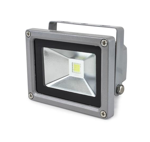 Reflector Led 10w Fijo Exterior 6000k 600 Lumenes Luz Blanca