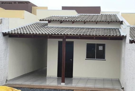 Casa Para Venda Em Várzea Grande, Canelas, 2 Dormitórios, 1 Banheiro, 1 Vaga - 238_1-1321656