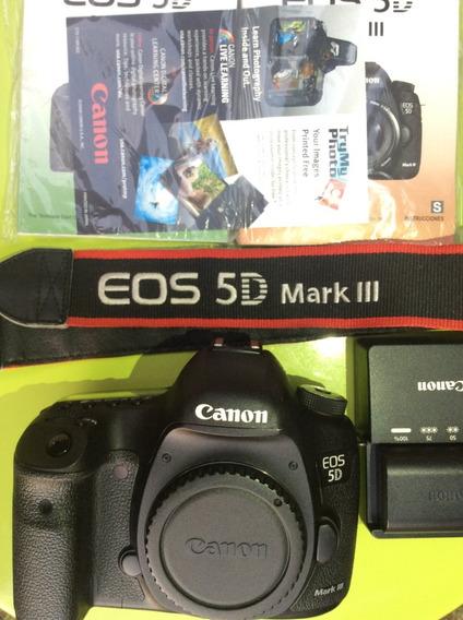 Câmera Canon 5d Mark Iii + Lente Canon 24 70 - 2.8 Macro