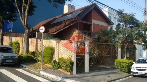 Sobrado Com 4 Dormitórios À Venda, 250 M² Por R$ 2.000.000 - Vila Marlene - São Bernardo Do Campo/sp - So0978