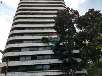 Apartamento Com 3 Dormitórios À Venda, 198 M² Por R$ 990.000 - Casa Amarela - Recife/pe - Ap0813