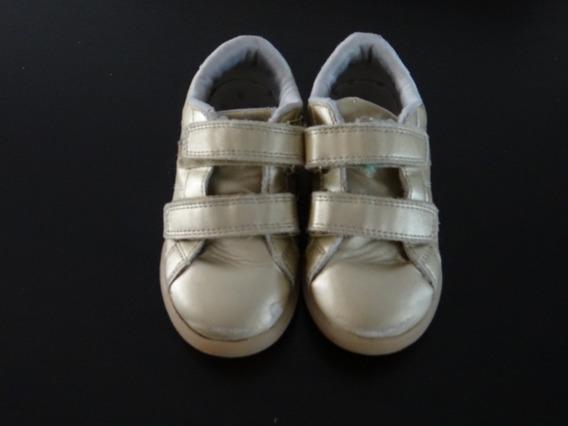 Carters Zapatillas Sin Cordones Dorada Zapatos Lv Importados