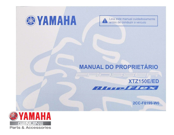 Manual Proprietário Crosser Xtz 150 Yamaha