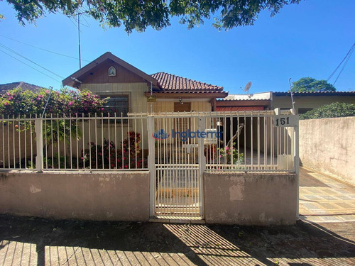 Casa À Venda, 150 M² Por R$ 350.000,00 - Aeroporto - Londrina/pr - Ca1633