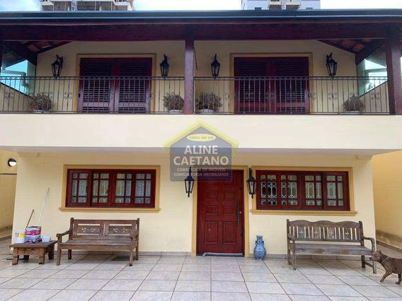 Sobrado Com 4 Dorms, Canto Do Forte, Praia Grande - R$ 1.9 Mi, Cod: Ft1250 - Vft1250
