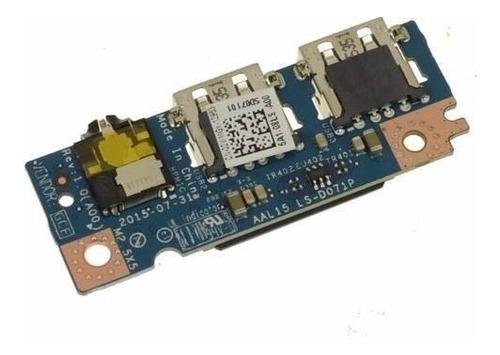 Puertos Usb Audio Board Dell Inspiron 15 5559 2wmgk Ls-d071p