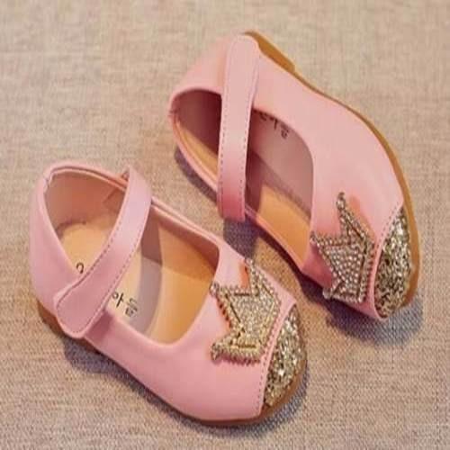 Sapato Infantil Festa Menina Aniversário Princesa Coroa