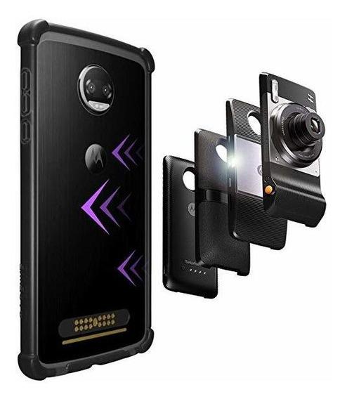 Casewe - Funda Para Motorola Moto Z2 Play/bumper Protector C