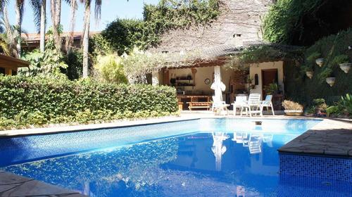 Casa Com 4 Dormitórios, 550 M² - Venda Por R$ 1.850.000,00 Ou Aluguel Por R$ 9.000,00/mês - Granja Viana - Cotia/sp - Ca13200