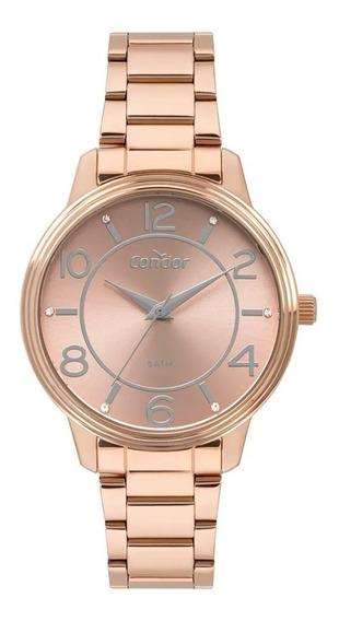 Relógio Condor Feminino Rose Fashion Co2035mpo/4j