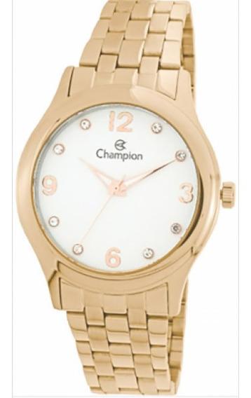 Relógio Champion Feminino Rosé Cn28991z