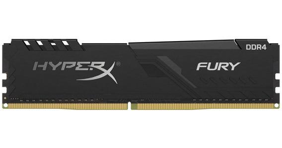 Memória Kingston Hyperx Fury 8gb Ddr4 2666mhz
