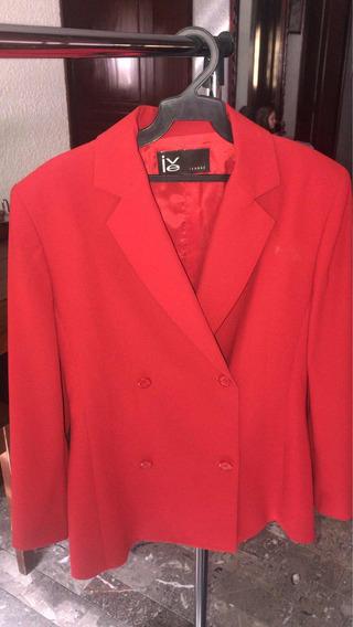 Saco Rojo Semi-nuevo Marca: Ivonne
