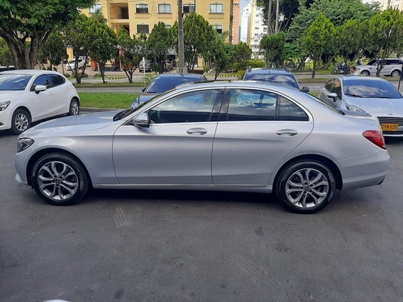 Mercedes Benz C180 1.6l, Plateado, 2018, Único Dueño