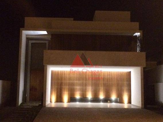 Casa Com 4 Dormitórios À Venda, 345 M² Por R$ 2.100.000 - Alphaville Nova Esplanada I - Votorantim/sp - Ca0336